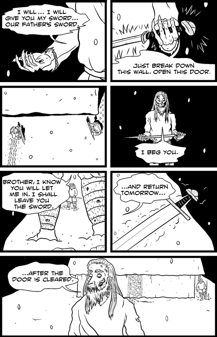 The Corpse Door Version 1 pg8