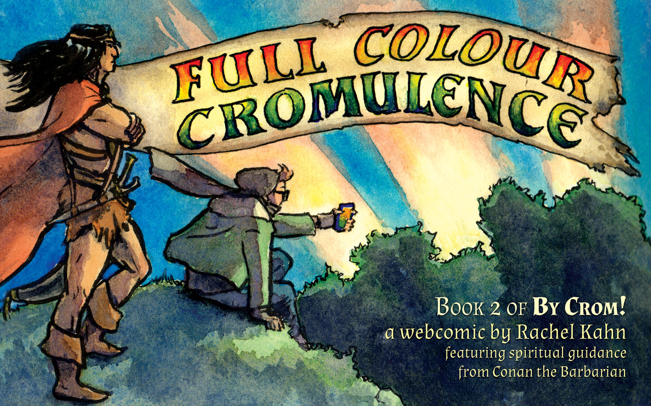 Full Colour Cromulence! Cover
