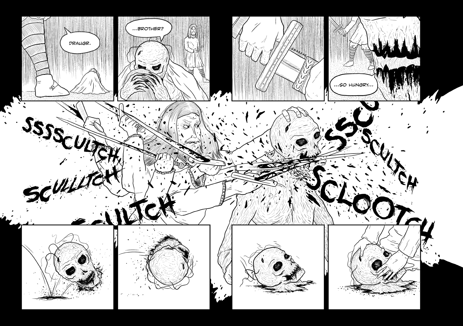 The Corpse Door Page 18-19