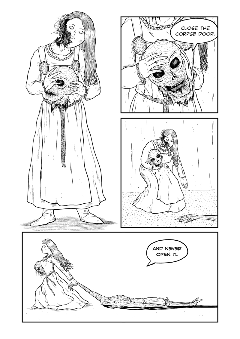 The Corpse Door Page 20