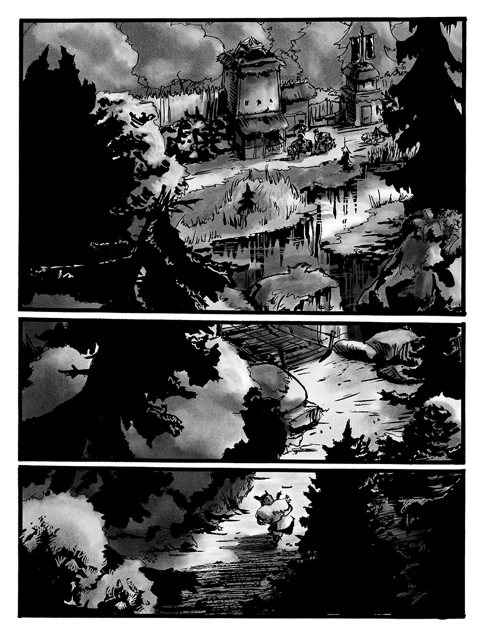Orin and the Dead Man's - Sword pg1