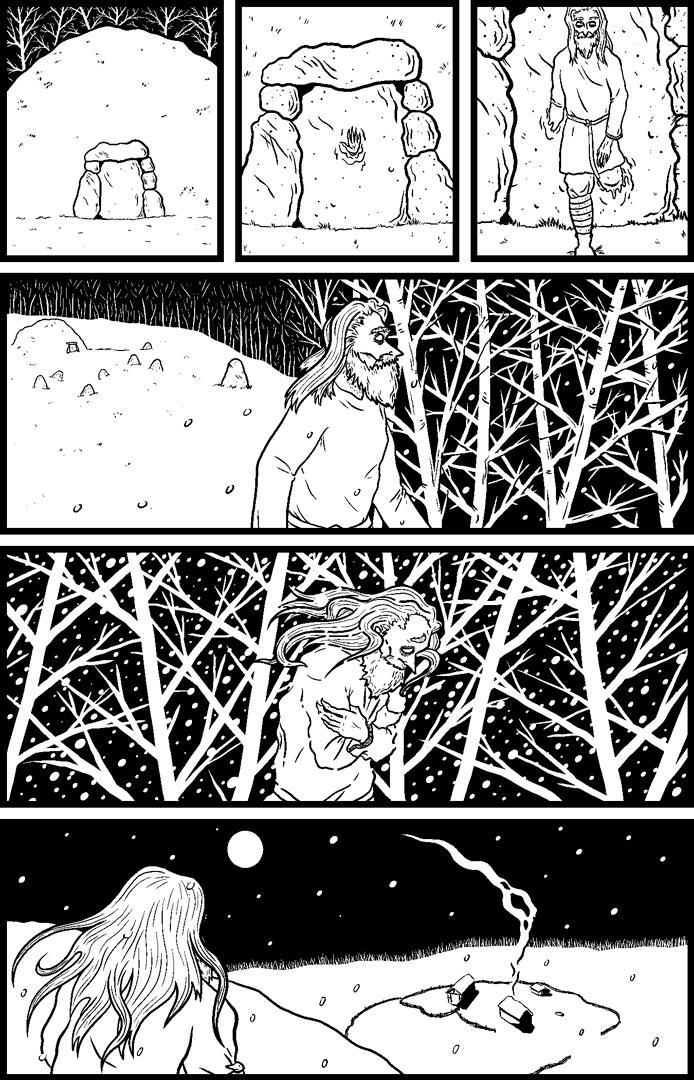 The Corpse Door Version 1 pg3