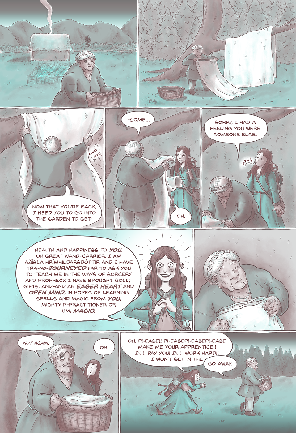 Linen, Leeks and Blood pg2